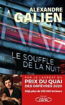 Couverture du livre « Le souffle de la nuit » de Alexandre Galien aux éditions Michel Lafon