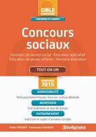 Couverture du livre « Concours sociaux (5e édition) » de Julien Fossati et Katarzyna Kalinski aux éditions Studyrama