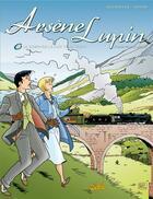 Couverture du livre « Arsène Lupin t.6 ; la demoiselle aux yeux verts » de Duchateau+Geron aux éditions Soleil