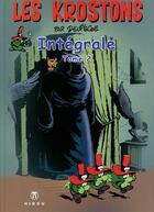 Couverture du livre « Les Krostons ; intégrale t.2 » de Paul Deliege aux éditions Hibou