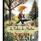 Couverture du livre « Le violon de Nicolas » de Clotilde Perrin et Amice Briere-Haquet aux éditions Feuilles De Menthe