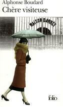 Couverture du livre « Chere visiteuse » de Alphonse Boudard aux éditions Gallimard