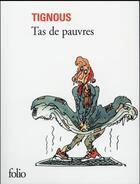 Couverture du livre « Tas de pauvres » de Tignous aux éditions Gallimard