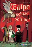 Couverture du livre « Oedipe schlac schlac » de Sophie Dieuaide et Vanessa Hie aux éditions Casterman