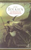 Couverture du livre « Le seigneur des anneaux » de J.R.R. Tolkien aux éditions Christian Bourgois