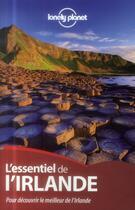 Couverture du livre « L'essentiel de l'Irlande » de Collectif aux éditions Lonely Planet France
