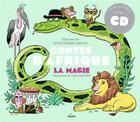 Couverture du livre « Contes d'Afrique - la magie » de Caroline Hue et Souleymane Mbodj aux éditions Milan