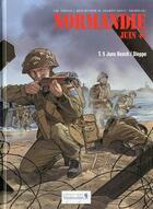 Couverture du livre « Normandie, juin 44 t.5 ; Juno Beach / Dieppe » de Bruno Marivain et Djian aux éditions Vagabondages