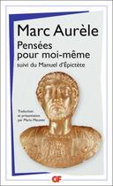 Couverture du livre « Pensées pour moi-même ; manuel d'Epictète » de Marc Aurele aux éditions Flammarion