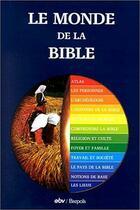 Couverture du livre « Monde de la bible editions brepols » de Collectif aux éditions Brepols