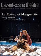 Couverture du livre « Maitre et marguerite (le) » de Mikhail Boulgakov aux éditions Avant-scene Theatre