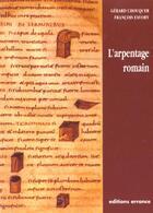 Couverture du livre « L'Arpentage Romain » de Gerard Chouquer aux éditions Errance