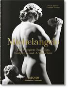 Couverture du livre « Michelangelo ; the complete paintings, sculptures and architecture » de Frank Zollner et Christof Thoenes aux éditions Taschen