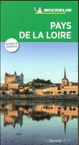 Couverture du livre « Le guide vert ; Pays de la Loire » de Collectif Michelin aux éditions Michelin