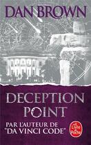 Couverture du livre « Deception point » de Dan Brown aux éditions Lgf