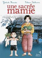 Couverture du livre « Une sacrée mamie t.1 » de Yoshichi Shimada et Saburo Ishikawa aux éditions Delcourt