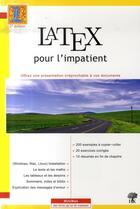 Couverture du livre « Latex pour l'impatient (2e édition) » de Chevalier aux éditions H & K