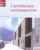 Couverture du livre « L'Architecture Contemporaine » de Sophie Flouquet aux éditions Scala