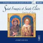 Couverture du livre « Saint francois et sainte claire » de Gouzes A aux éditions Studio Sm