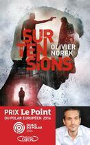 Couverture du livre « Surtensions » de Olivier Norek aux éditions Michel Lafon