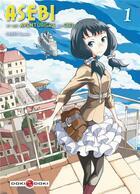 Couverture du livre « Asebi et les aventuriers du ciel t.1 » de Taisuke Umeki aux éditions Bamboo
