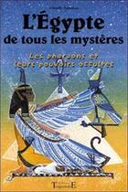 Couverture du livre « Egypte de tous les mysteres » de Charly Samson aux éditions Trajectoire