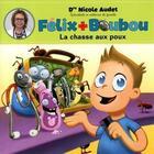Couverture du livre « La chasse aux poux » de Nicole Audet aux éditions Boomerang Jeunesse