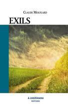 Couverture du livre « Exils » de Claude Mouflard aux éditions A Contresens