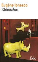 Couverture du livre « Rhinocéros » de Eugene Ionesco aux éditions Gallimard