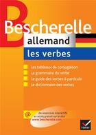 Couverture du livre « Bescherelle allemand ; les verbes » de Michel Esterle aux éditions Hatier
