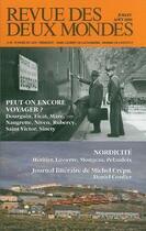 Couverture du livre « Peut-on encore voyager ? nordicité » de Collectif aux éditions Revue Des Deux Mondes