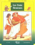 Couverture du livre « Les Trois Menteurs » de K-T Hao et Tomasz Borowski aux éditions Epigones