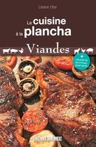 Couverture du livre « La cuisine à la plancha, viandes » de Liliane Otal aux éditions Sud Ouest Editions