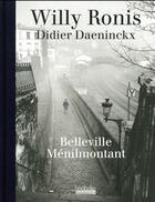 Couverture du livre « Belleville Ménilmontant » de Didier Daeninckx aux éditions Hoebeke