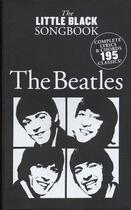 Couverture du livre « Beatles ; little black songbook ; 195 titres ; chant, guitare » de Collectif aux éditions Id Music