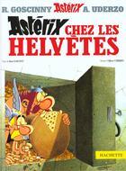 Couverture du livre « Astérix t.16 ; Astérix chez les Helvètes » de Albert Urderzo et Rene Goscinny aux éditions Albert Rene