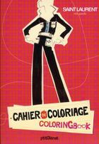 Couverture du livre « Cahier de coloriage prêt-à-porter » de Collectif aux éditions P'tit Glenat