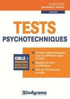 Couverture du livre « Tests psychotecniques (3e édition) » de Julien Fossati aux éditions Studyrama
