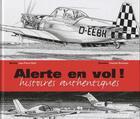 Couverture du livre « Alerte en vol ! » de Jean-Pierre Otelli et Francois Bousseau aux éditions Altipresse