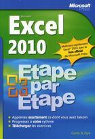Couverture du livre « Excel 2010 » de Curtis Frye aux éditions Microsoft Press