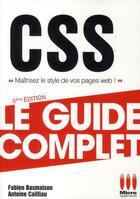 Couverture du livre « CSS (édition 2011) » de Fabien Basmaison et Antoine Cailliau aux éditions Micro Application