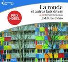 Couverture du livre « La ronde et autres faits divers » de Jean-Marie Gustave Le Clezio aux éditions Gallimard
