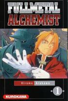 Couverture du livre « Fullmetal alchemist T.1 » de Hiromu Arakawa aux éditions Kurokawa