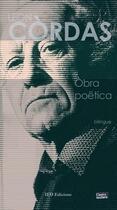 Couverture du livre « Òbra poëtica » de Leon Cordas aux éditions Ieo Edicions