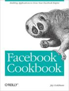 Couverture du livre « Facebook cookbook » de Jay Goldman aux éditions O'reilly Media
