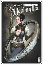 Couverture du livre « Lady Mechanika T.5 » de Marcia Chen et Martin Montiel et Joe Benitez aux éditions Glenat Comics