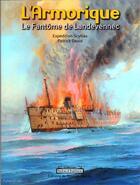 Couverture du livre « L'Armorique ; le fantôme de Landevennec » de Patrick David aux éditions Du Bout Du Monde