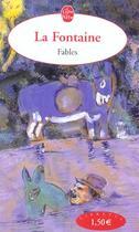 Couverture du livre « Fables » de Jean De La Fontaine aux éditions Lgf