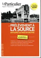 Couverture du livre « Le prélèvement à la source (édition 2018/2019) » de Collectif aux éditions Le Particulier