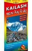 Couverture du livre « Kailash ; 1/50.000 » de Collectif aux éditions Karto Atelier